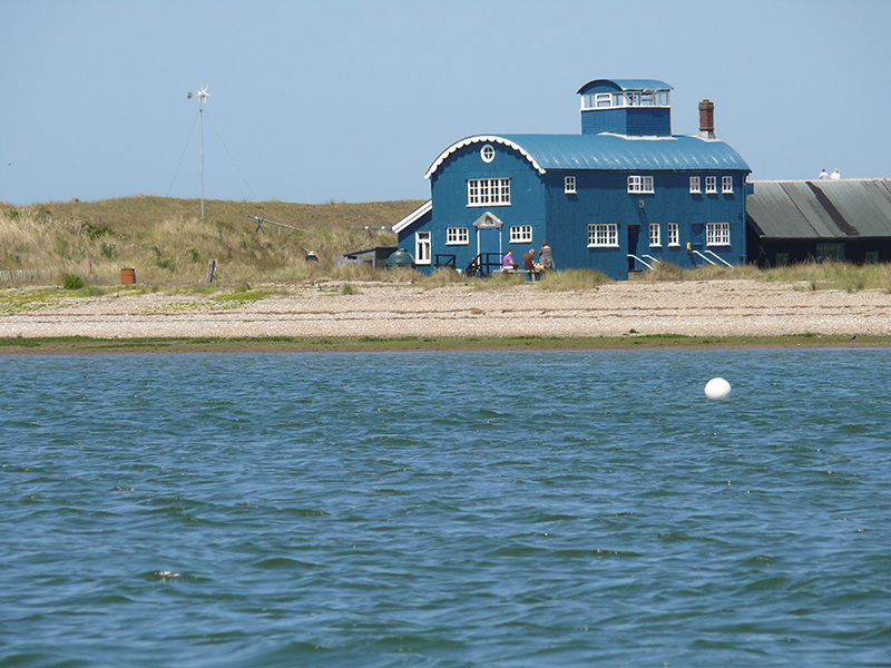Blakeney Lifeboat House from the water