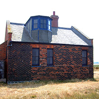 The Blakeney Point Watch House seaward side bay window